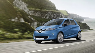 Renault Zoe sets a new all-time EV sales record (Credit: Renault) Click to Enlarge.