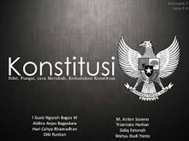 Tujuan Konstitusi