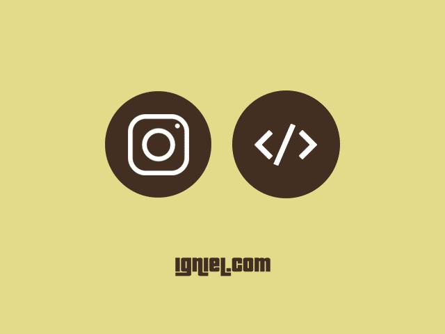 Cara Embed dan Memasang Foto dan Video Instagram ke Dalam Postingan Blog