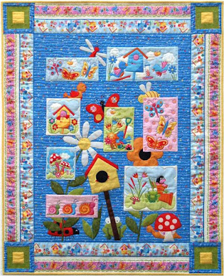 Quilt inspiration free pattern day baby quilts part 1 bear feet baby quilt 45 square free pattern by emily herrick for michael miller fabrics pronofoot35fo Choice Image