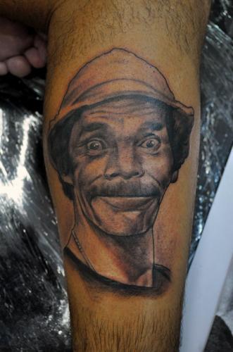 Tatuaje de Don Ramón del Chavo del 8