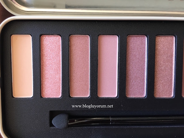 w7 in the nude colour me nude eye colours palette ilk 6lı