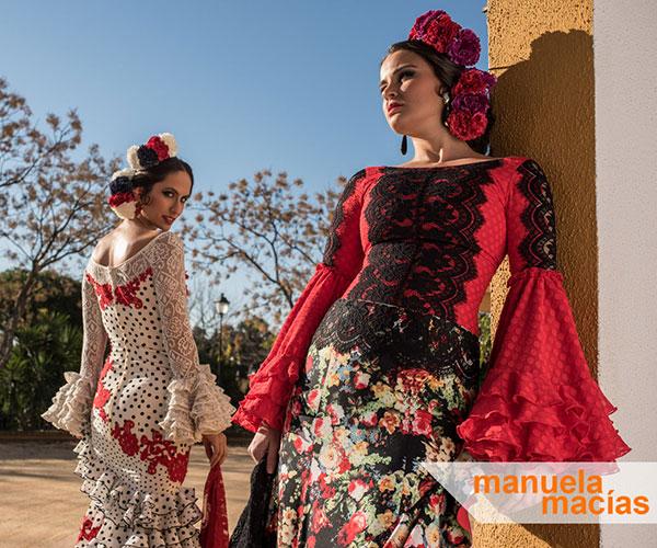 moda trajes flamenca 2017 Manuela Macias