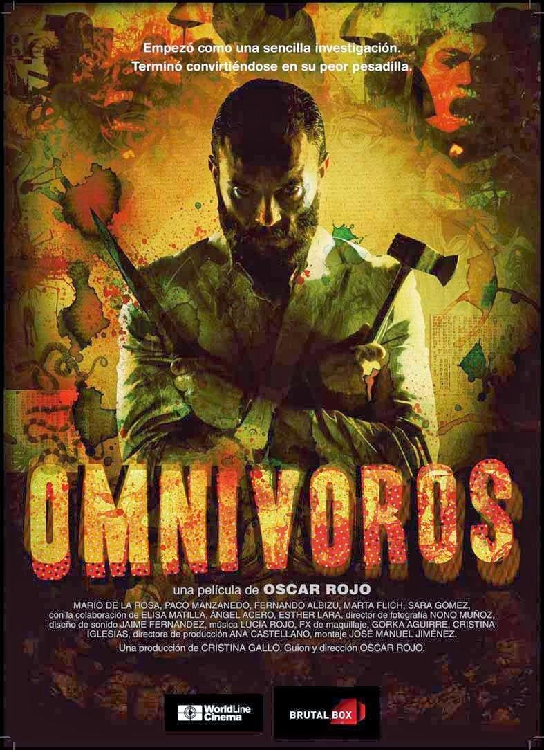 capa - Omnívoros – DVDRip AVI + RMVB Legendado