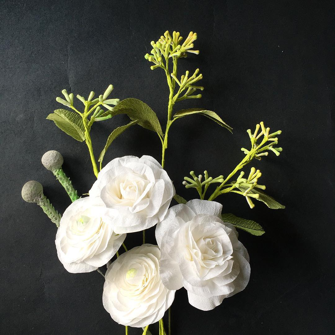 Handmade Paper Flowers By Maria Noble