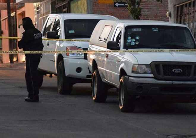 La escena del crimen. FOTO: Especial