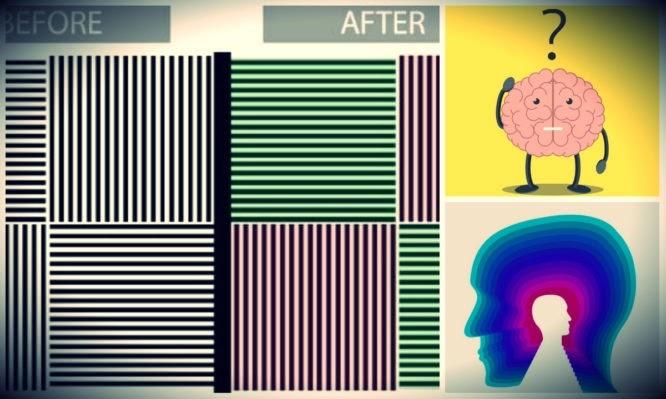 Οφθαλμαπάτη «σπάει τον εγκέφαλο» και θα βλέπετε το μαύρο και άσπρο σαν πράσινο και κόκκινο