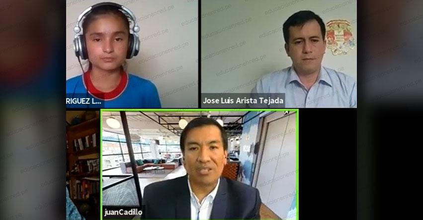 FONDEP: Docente de Amazonas y estudiante de Cajamarca intercambiaron experiencias de aprendizaje en Webinar del foro 4 - www.fondep.gob.pe
