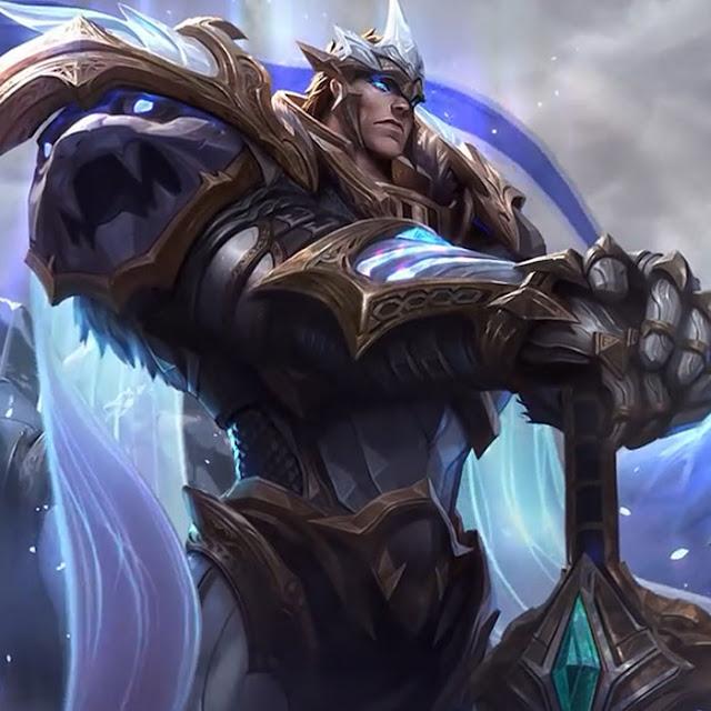 League of Legends God King Garen Login Screen Wallpaper Engine