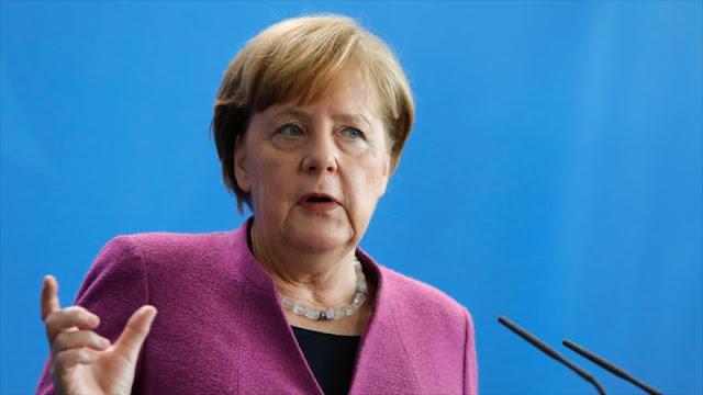 Merkel: Alemania no participará en una ofensiva de EEUU a Siria