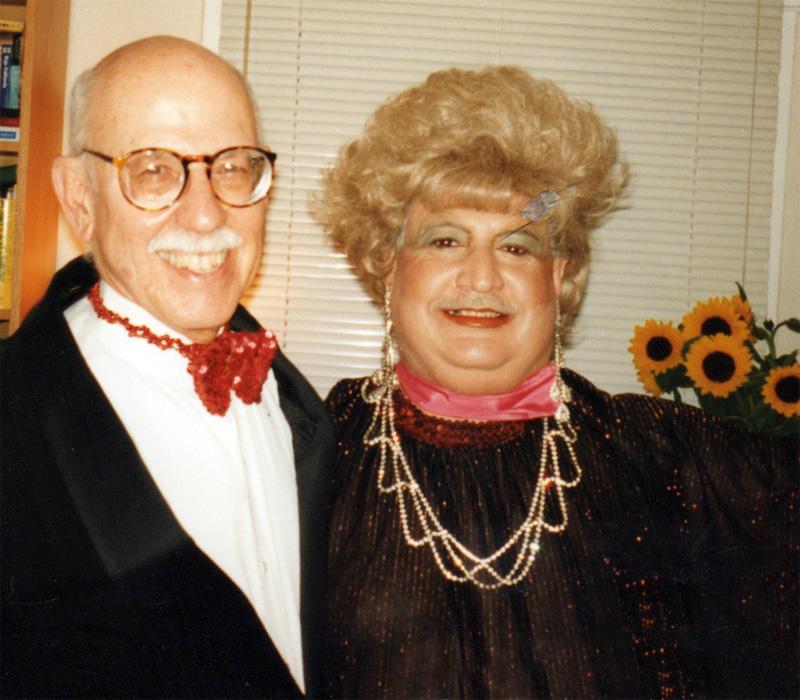 Albert Marsh and Johnnathan Korver at Halloween