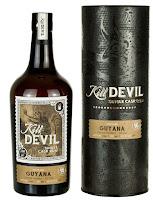 Kill Devil – Guyana – Uitvlugt Distillery – 16 ans (décembre 1999 –  août 2016) – 46 %