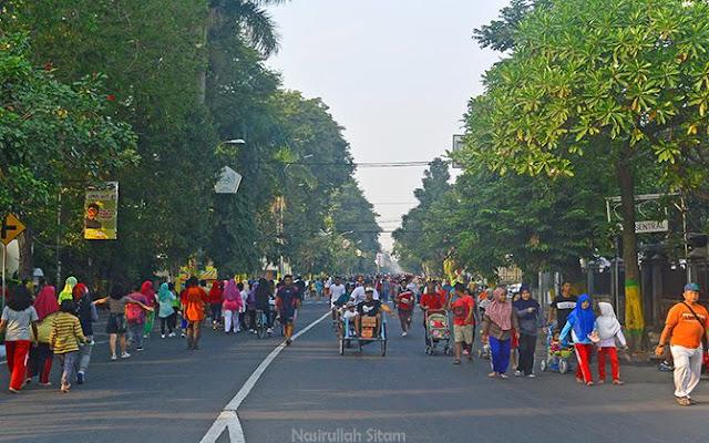 Car Free Day Kota Jombang bulan Agustus 2017