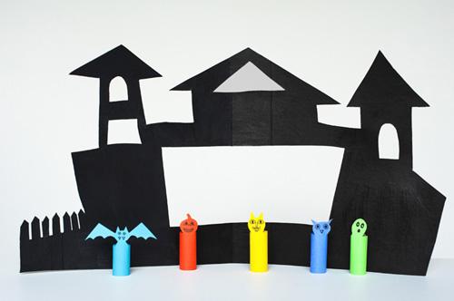 Finger Puppet Printable Family Templates