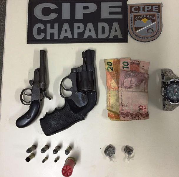 Mucugê: Suposto traficante é morto em confronto com Cipe Chapada