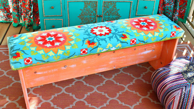 Upholstered Bench Build From A-Z