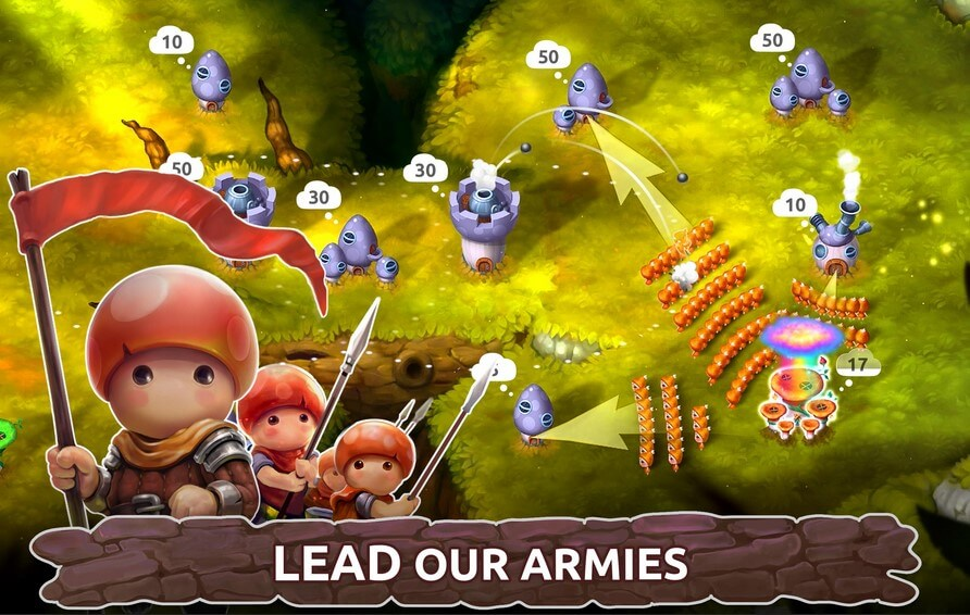 Download games like mushroom wars for Android