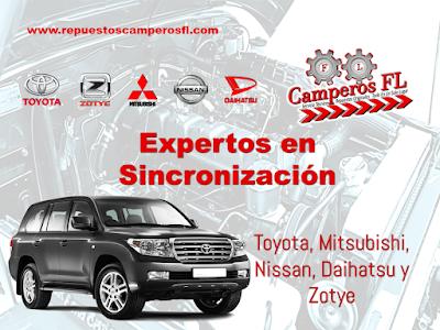 Sincronizacion Toyota Camperos FL