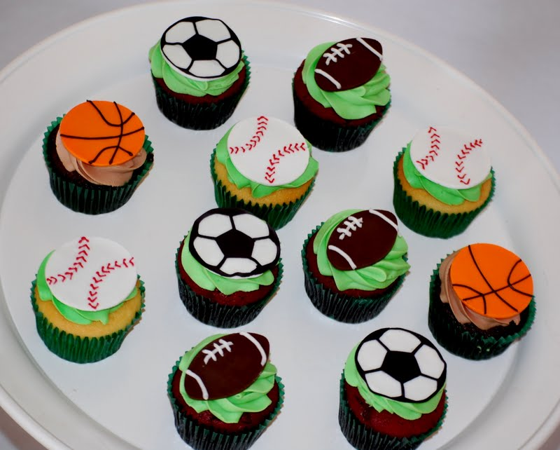 Cakefilley Sports Cupcakes
