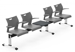 Duet Powered Beam Seating by Global