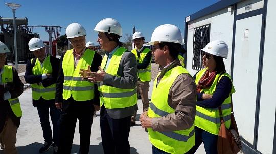 Climent: 'La subestación eléctrica atenderá todas las necesidades del polígono de Les Carrases y mejorará notablemente el suministro de la zona'