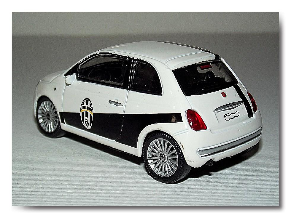 Modellismo Statico Fiat 500 Juventus