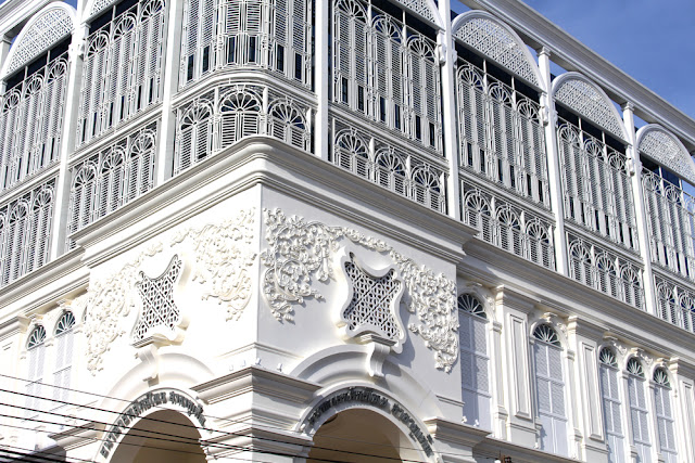 Colonial architecture Phuket Old Town, Thailand - travel blog