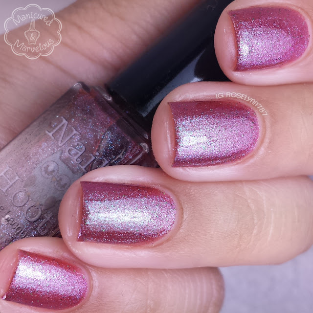 Nail Hoot Lacquer - Licorice Twist