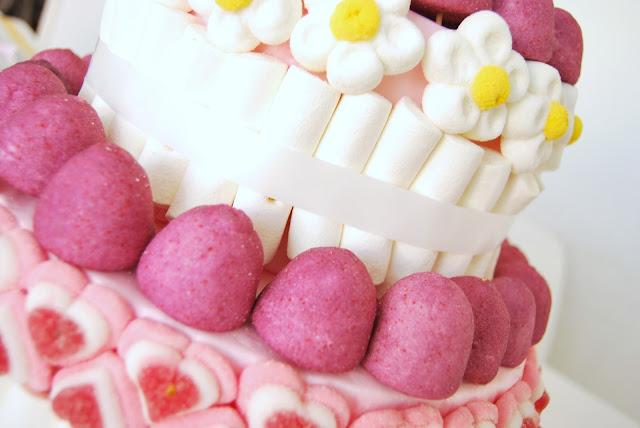 Tutorial tarta de chuches para boda