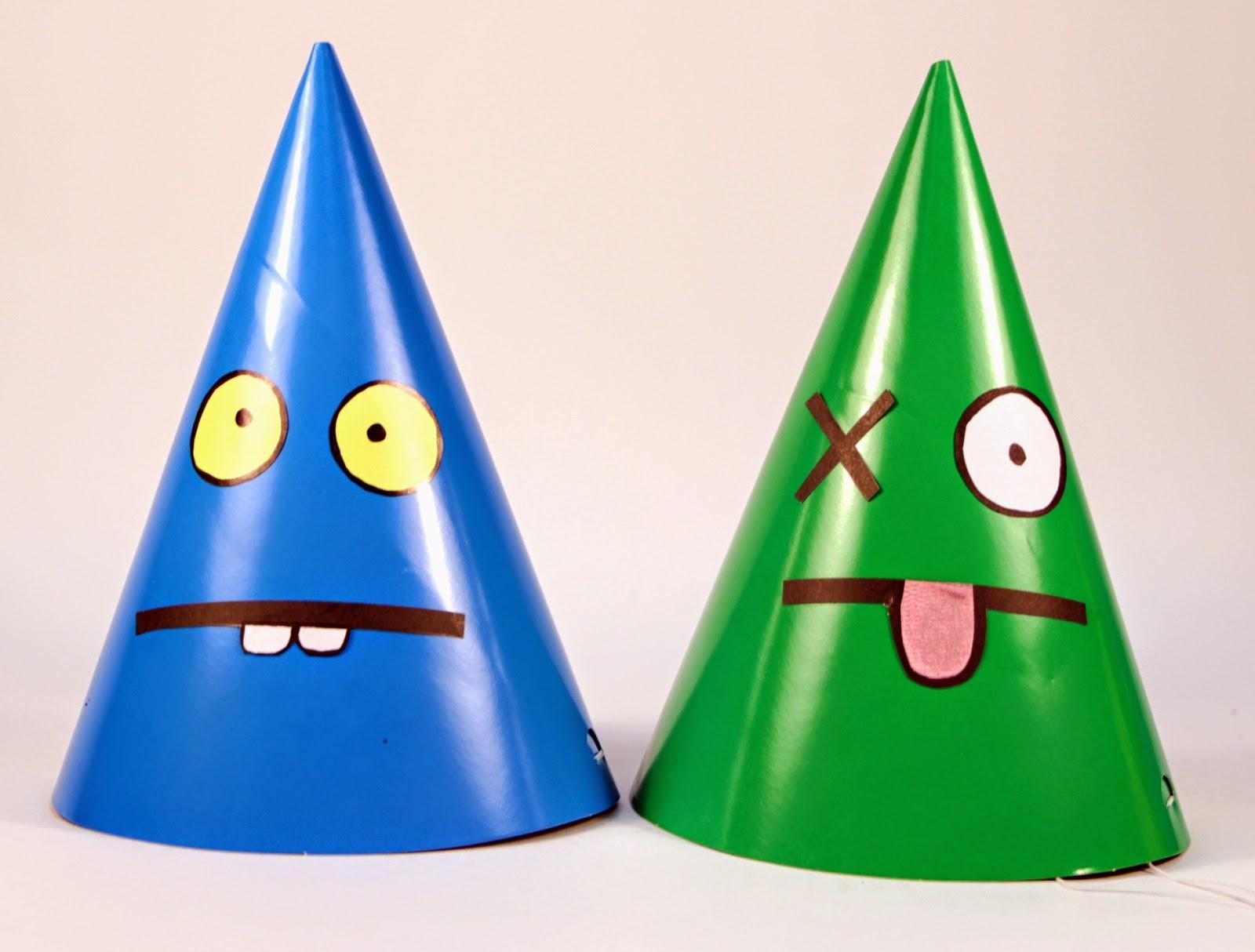「DIY」創意燈籠與彩虹派對帽設計 DIY Lanterns & Hats