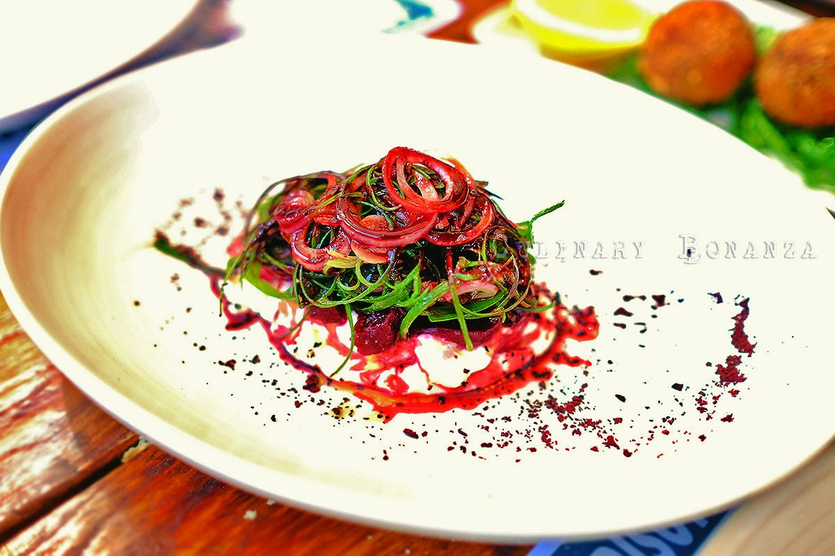 Salt Baked Baby Beetroot Salad
