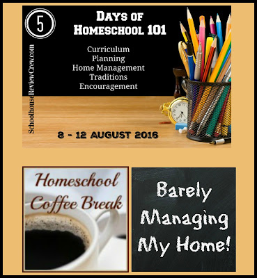 Homeschool 101 - Barely Managing My Home! on Homeschool Coffee Break @ kympossibleblog.blogspot.com - Day 3 of #5daysofhomeschool101 blog hop hosted by SchoolhouseReviewCrew.com