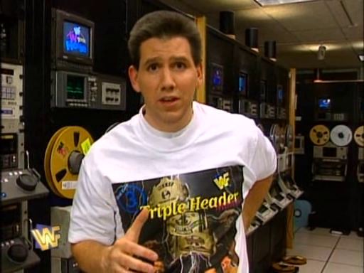 WWF / WWE - In Your House 3 - Triple Header - Todd Pettengill hosted the In Your House preshow