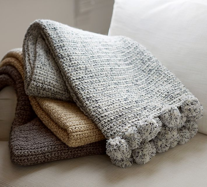My Favorite Pottery Barn Throws