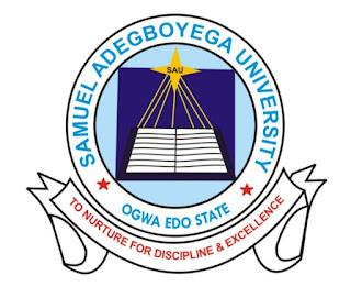 SAU Post UTME Form 2018