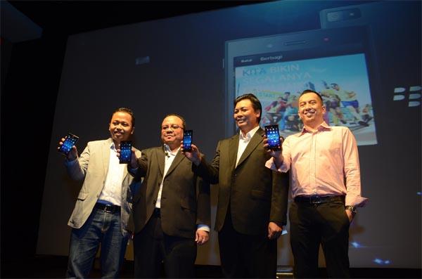 BlackBerry Luncurkan BlackBerry Z3 'Jakarta Edition' di Surabaya