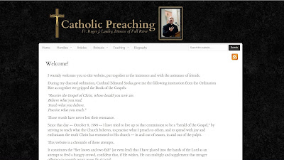 Catholic Preaching, Father Roger J. Landry