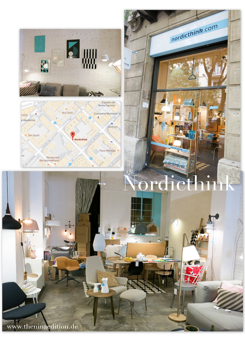 Der Showroom von nordicthink in Barcelona