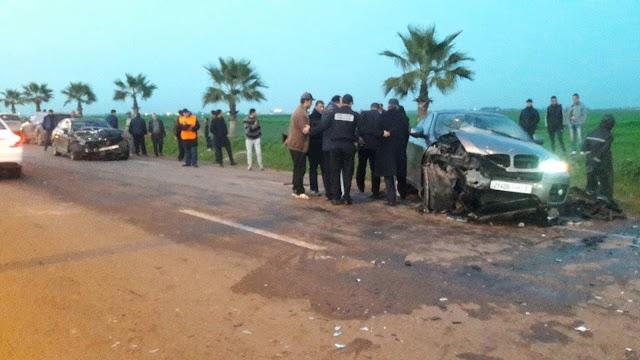 عناصر الدرك الملكي تتسبب في حادثة سير خطيرة بمدخل مدينة برشيد