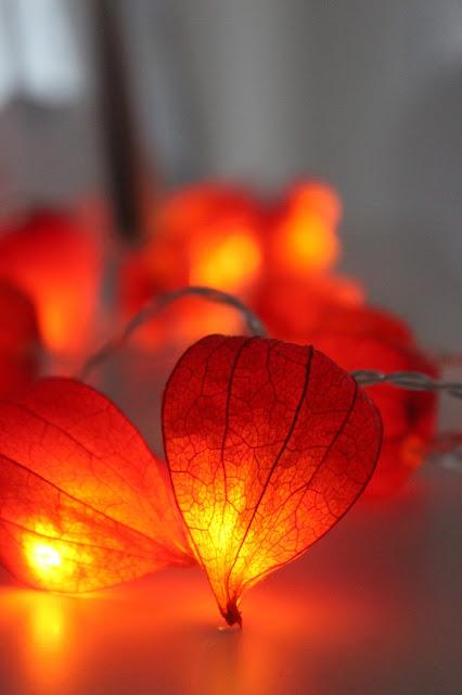 jesenné lampáše