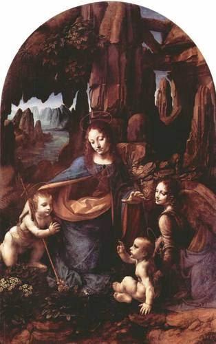 A Virgem dos Rochedos - Leonardo Da Vinci | O maior artista de todos os tempos