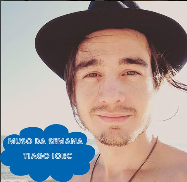 Tiago Iorc é o muso da semana