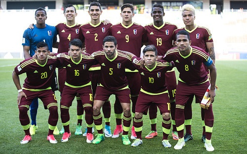 Tốc độ tăng trưởng bóng đá của Venezuela gần đây rất ấn tượng