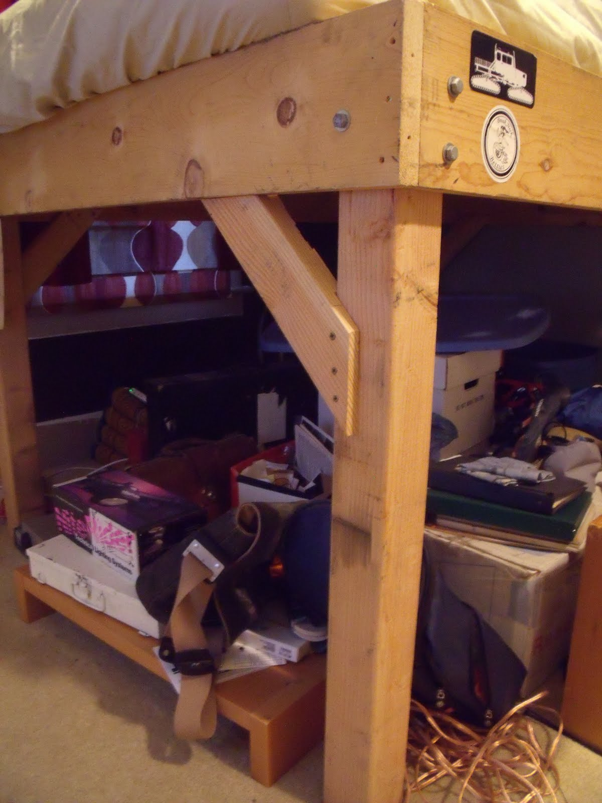 Bee Handy Build Your Own Loft Bed