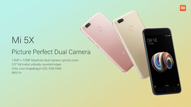 Smartphone Xiaomi Mi 5X