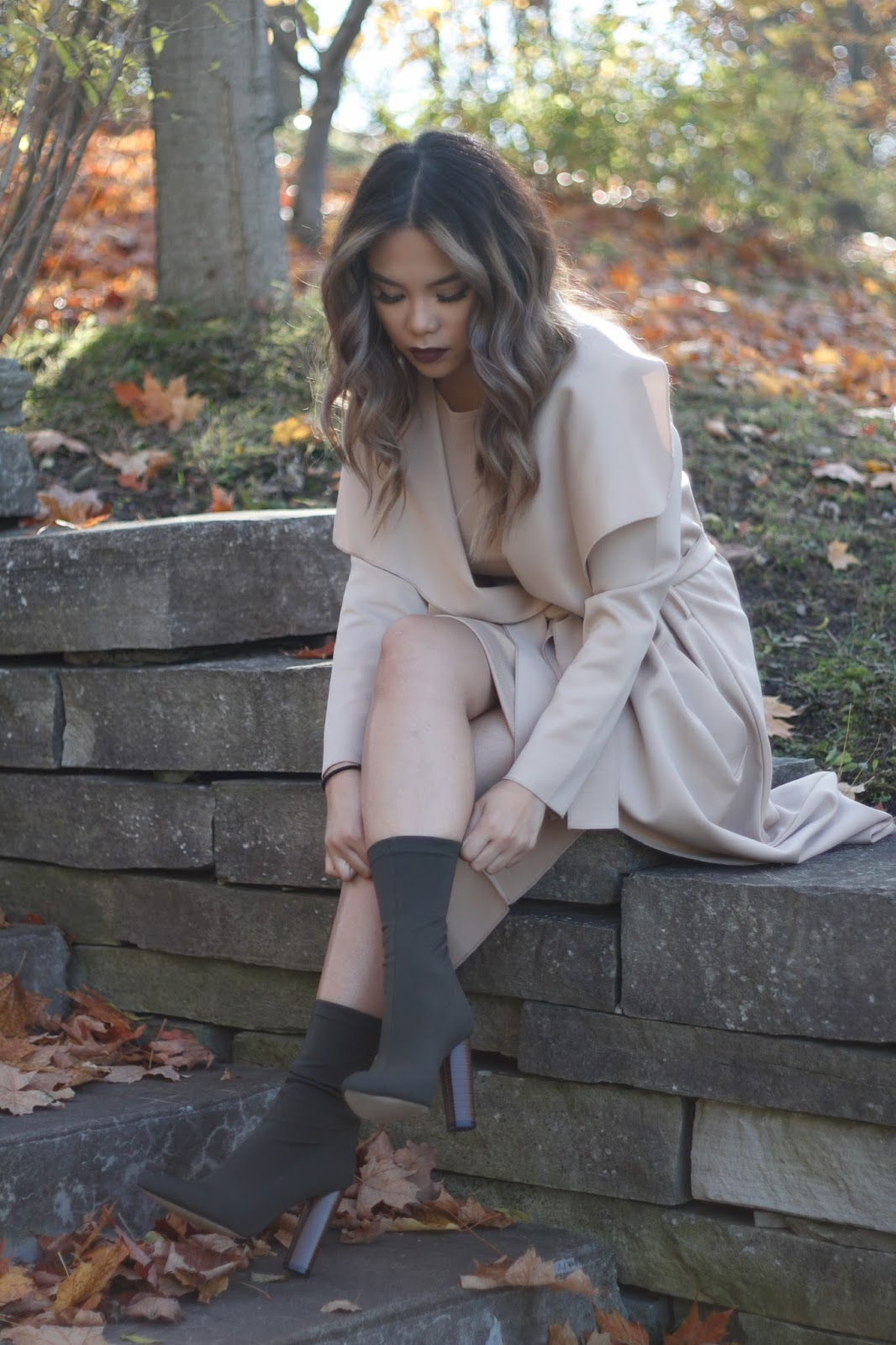 Nude Vibes and Khaki Touch