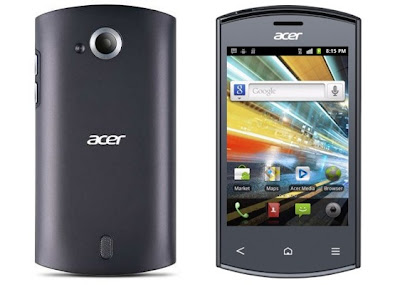 Acer Liquid Express E320 in titanium grey