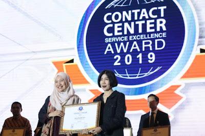 GM HC3 AHM Istiyani Susriyati menerima penghargaan CCSEA 2018