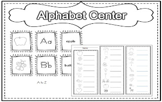 Primary Graffiti: Alphabetizer!