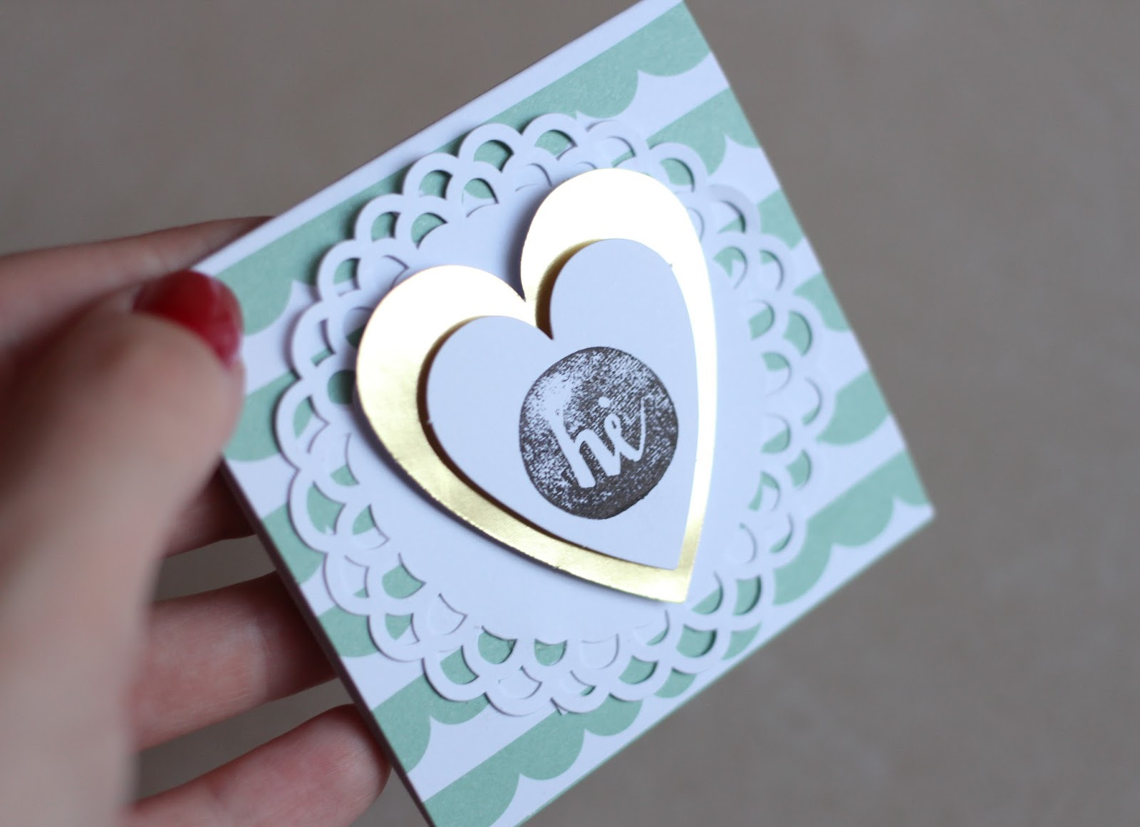 OH HAPPY DAY CARD MAKING KIT